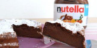 Gâteau magique au Nutella avec Thermomix