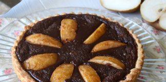 Tarte aux poires et au chocolat avec Thermomix