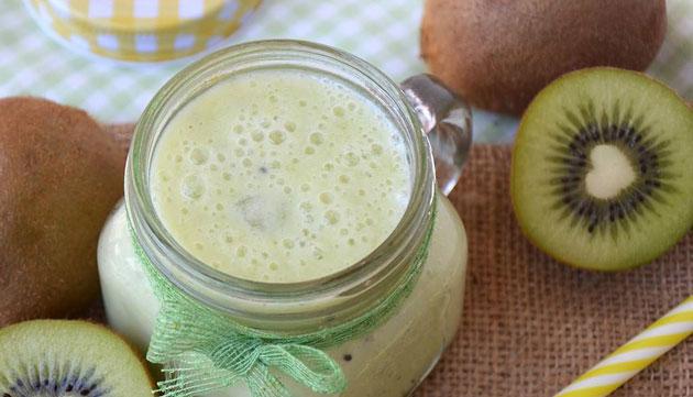 smoothie aux kiwis et gingembre au Thermomix