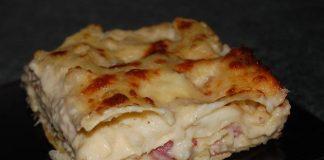 Lasagnes au chou-fleur et jambon avec Thermomix