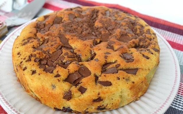 gâteau avec restes de chocolats de Pâques au Thermomix,