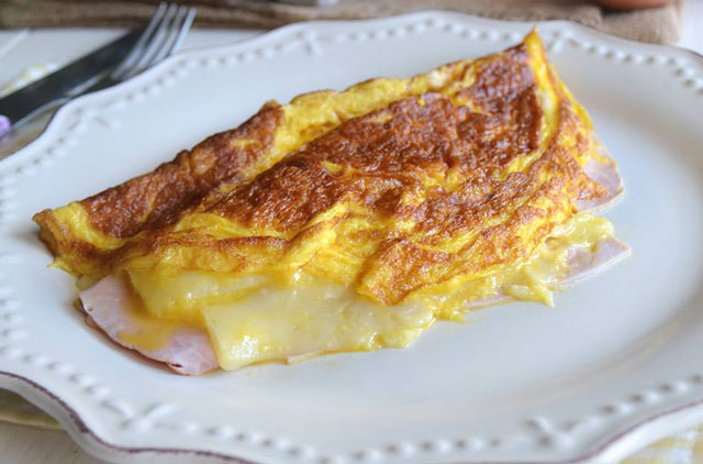 omelette jambon-emmental au Thermomix