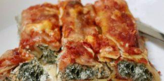 Cannelloni aux épinards WW