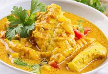 Filets de poisson au curry WW