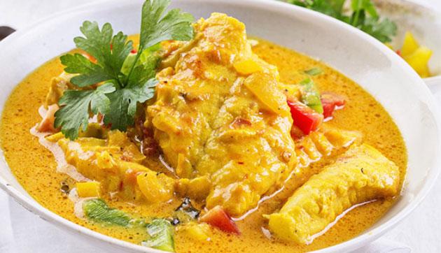 Filets de poisson au curry WW