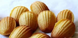 Madeleines avec Thermomix