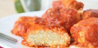 Boulettes de ricotta à la sauce tomate au Thermomix