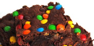 brownies aux M&M's avec Thermomix