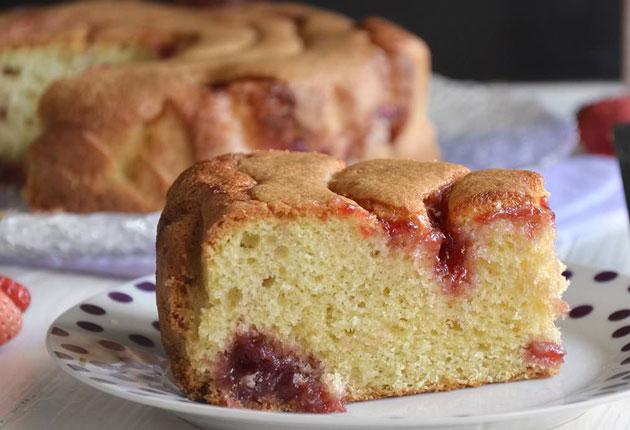 Gâteau moelleux à la confiture au Thermomix