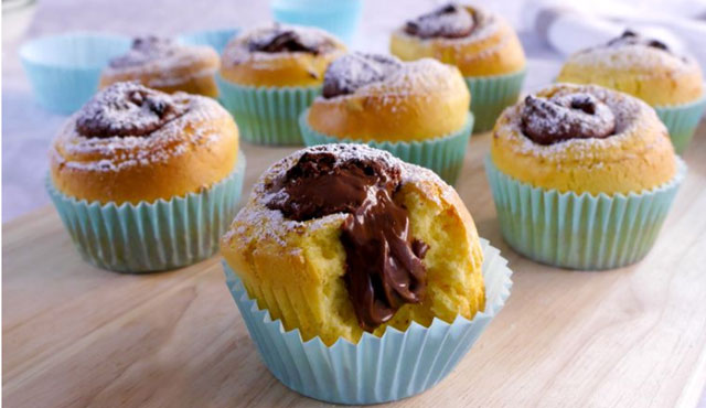 Muffins au Nutella avec Thermomix