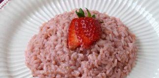 Risotto aux fraises avec Thermomix