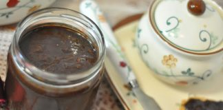 Confiture banane et cacao sans sucre WW