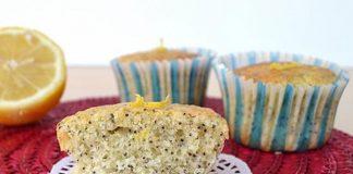 Muffins légers au citron et graines de pavot 2 SP