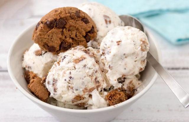 Crème Glacée aux Cookies avec Thermomix