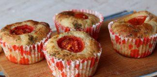 Muffins à la ricotta et aux tomates cerises avec Thermomix