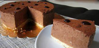 bavarois au chocolat avec Thermomix