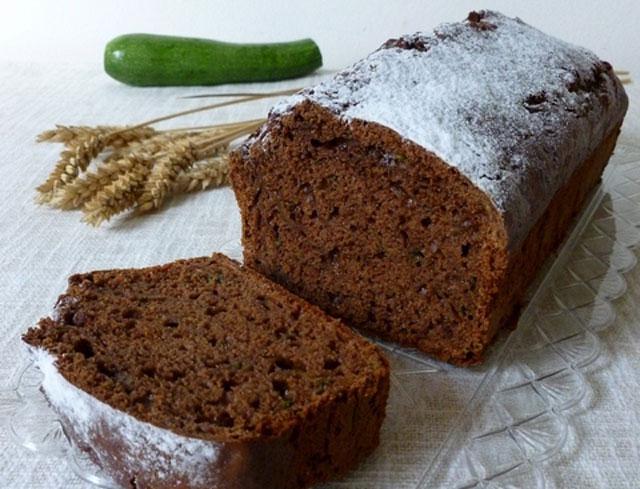 gâteau léger au cacao et courgette WW