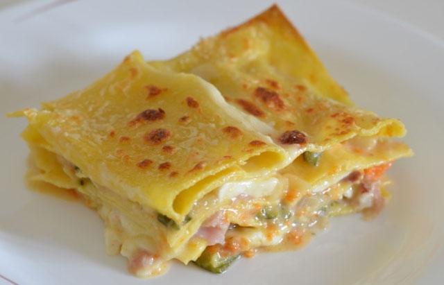 lasagnes légères aux légumes WW