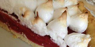 tarte aux fraises meringuée au thermomix