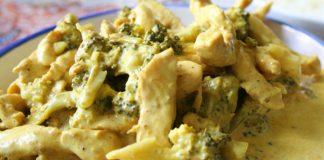 Poulet au Curry et Brocoli WW