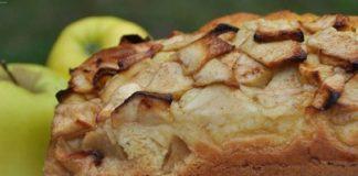 cake aux pommes WW