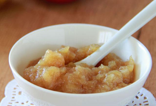 confiture sans sucre de poires et de pommes WW