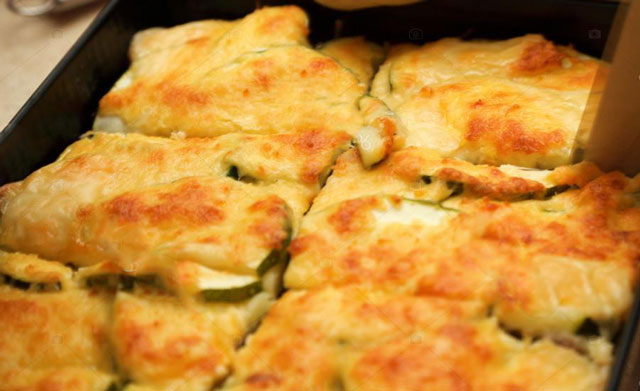gratin dauphinois aux courgettes WW