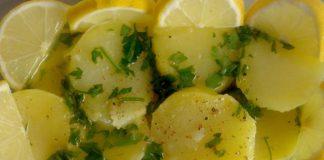salade de pommes de terre au citron WW
