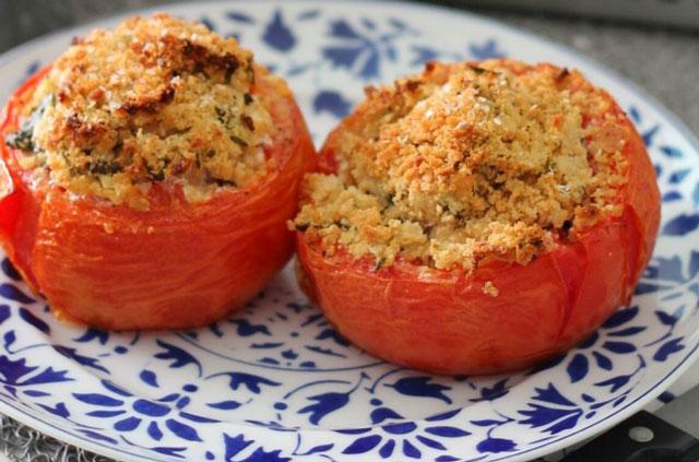tomates farcies au chèvre Ww