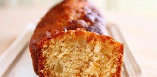 Cake aux pommes et gingembre ww