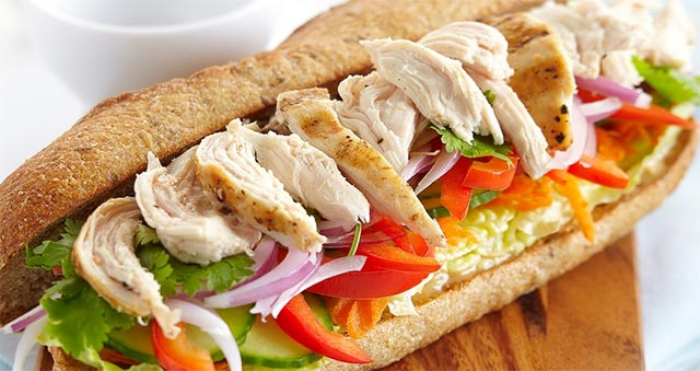 Sandwichs légers et rapides