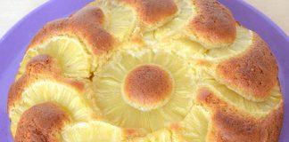 Gâteau renversé à l'ananas WW