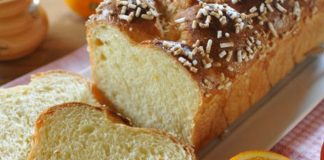 brioche au jus d'orange au Thermomix