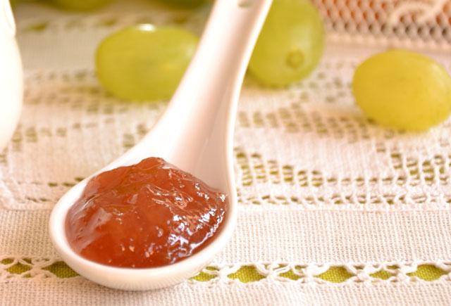 confiture de raisin avec Thermomix