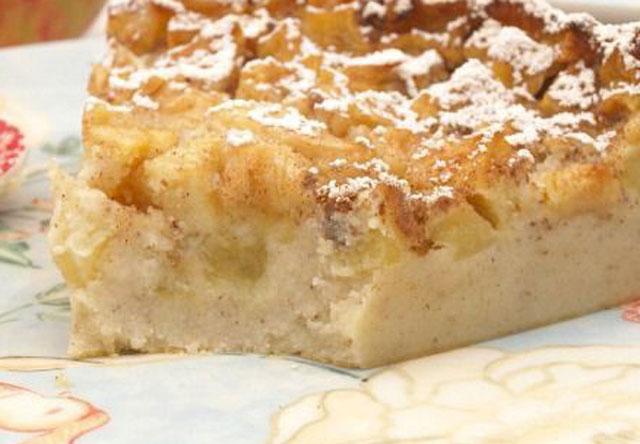gâteau aux pommes et fromage blanc WW