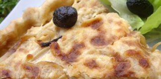 tarte aux oignons WW