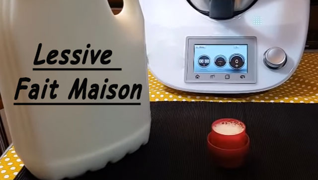 lessive inratable au thermomix