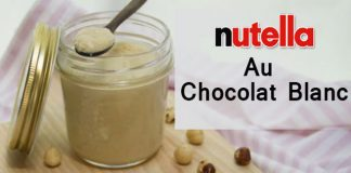 Nutella au chocolat blanc au Thermomix