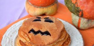 Pancakes à la Citrouille d'Halloween au Thermomix