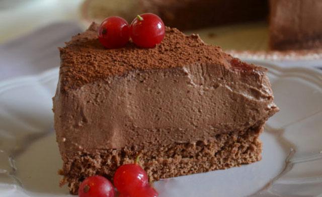gâteau mousse au chocolat au Thermomix