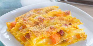 lasagnes au potiron et jambon WW