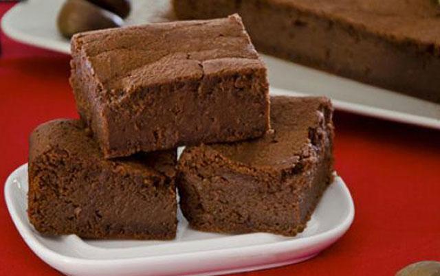 moelleux au chocolat et aux marrons au Thermomix