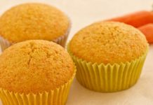 muffins ACE (carotte - orange - citron) WW