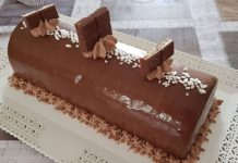 Bûche Kinder au Thermomix