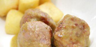 boulettes de viande à la sauce aux courgettes au Thermomix