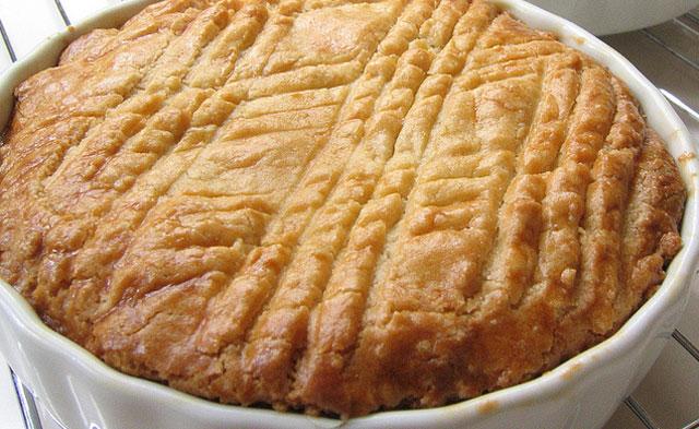 gâteau breton au caramel beurre salé au Thermomix