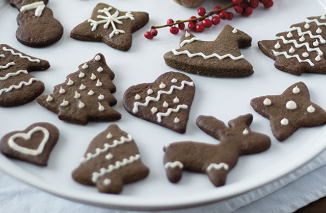 Sablés de Noël au Cacao au Thermomix