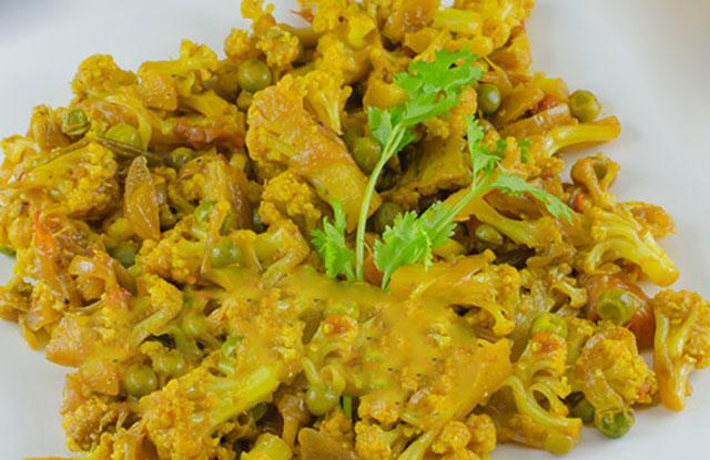 curry de légumes au lait de coco WW