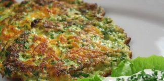 galettes légères de brocoli au parmesan