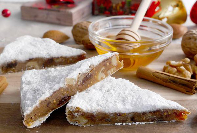 panforte ( pain de Noël aux fruits secs ) au Thermomix